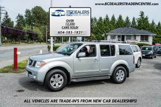 Used 2005 Nissan Pathfinder 4WD LE V6, DVD, Sunroof, Leather, All of the Options! for sale in Surrey, BC