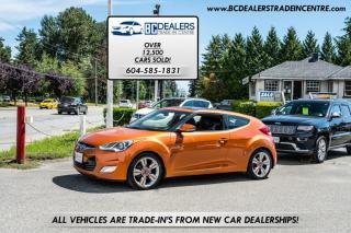 Used 2014 Hyundai Veloster with Navigation, Leather, Sunroof, Backup Cam, Bluetooth! for sale in Surrey, BC