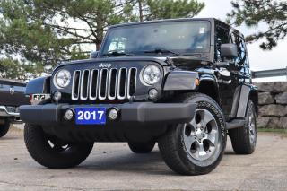 Used 2017 Jeep Wrangler 4WD 2dr Sahara | Navi | Painted Top | Low Km! for sale in Waterloo, ON