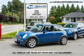 Used 2006 MINI Cooper Hardtop Local, No Declarations, Low 133k, Sunroof, Leather, Clean! for sale in Surrey, BC