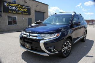 Used 2016 Mitsubishi Outlander GT,7PASS,S-AWD,NAVI,LEATHER,SUNROOF,BACKUP CAMERA for sale in Newmarket, ON