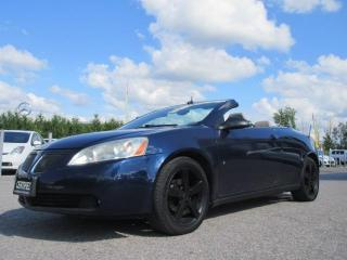Used 2008 Pontiac G6 2dr Conv GT/ ACCIDENT FREE for sale in Newmarket, ON