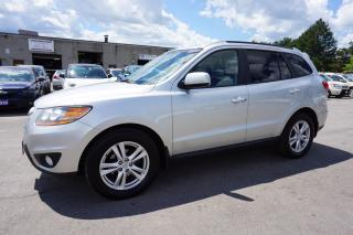 Used 2011 Hyundai Santa Fe GLS V6 4WD CERTIFIED 2YR WARRANTY BLUETOOTH HEATED LEATHER ALLOYS AUX HITCH for sale in Milton, ON