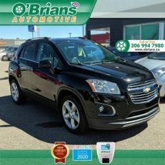 Used 2016 Chevrolet Trax LTZ w/AWD, Leather, Backup Camera, Command Start for sale in Saskatoon, SK