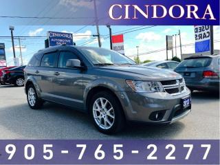 Used 2013 Dodge Journey Crew, DVD Player, 7 Passenger, Heated Seats, Remot for sale in Caledonia, ON