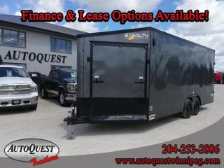 Used 2021 Stealth TRAILER 8.5' x 25' V-Nose Combo for sale in Winnipeg, MB