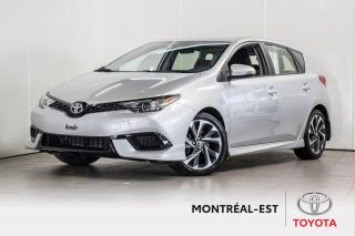Used 2017 Toyota Corolla iM BAS MILLAGE,AUTOMATIQUE for sale in Montréal, QC