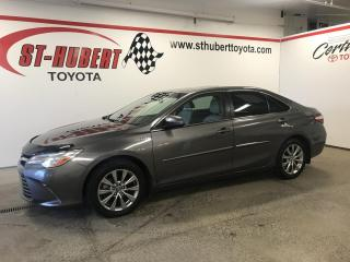 Used 2017 Toyota Camry HYBRID GPS, NAVIGATION, XLE for sale in St-Hubert, QC