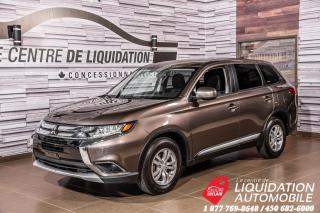 Used 2017 Mitsubishi Outlander ES+AWD+GR ELECTRIQUE+MAGS for sale in Laval, QC