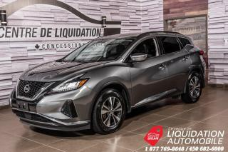 Used 2019 Nissan Murano SV AWD+MAGS+CAMERA+BLUETOOH+CAM. RECUL for sale in Laval, QC