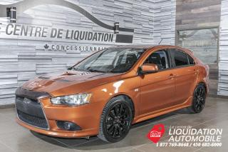 Used 2009 Mitsubishi Lancer Ralliart+MAGS+GR/ELEC+A/C for sale in Laval, QC