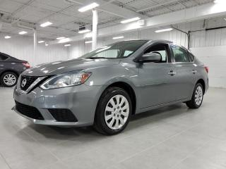Used 2017 Nissan Sentra SV - CAMERA + SIEGES CHAUFFANTS + JAMAIS ACCIDENTE for sale in St-Eustache, QC