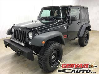 Used 2014 Jeep Wrangler A/C - Lift kit 2,5  / pneus 31 Duratrac / for sale in Shawinigan, QC