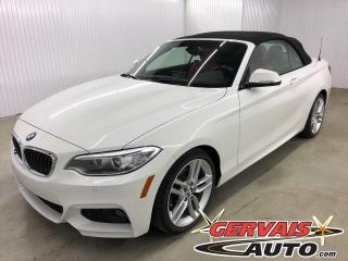 Used 2017 BMW 2 Series 230i xDrive DÉCAPOTABLE MAGS CUIR CAMÉRA Convertible for sale in Shawinigan, QC