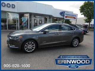 Used 2017 Ford Fusion Titanium for sale in Mississauga, ON