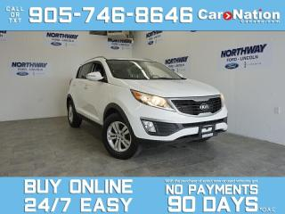 Used 2013 Kia Sportage LX | ALLOYS | HEATED SEATS | LOW KMS for sale in Brantford, ON
