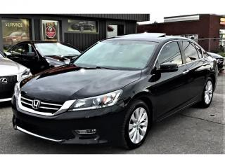 Used 2013 Honda Accord Auto-EX-L-CAM RECUL-TOIT OUVRANT-BLUETOOTH- for sale in Laval, QC