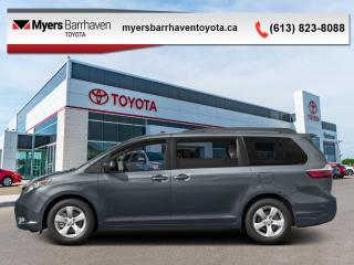 Used 2016 Toyota Sienna LE  -  Bluetooth - $149 B/W for sale in Ottawa, ON