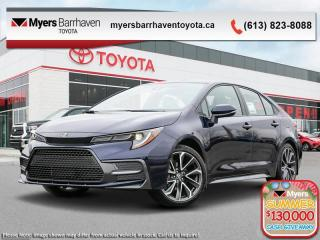 New 2020 Toyota Corolla SE Upgrade Package  - Sunroof - $165 B/W for sale in Ottawa, ON