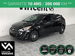Used 2017 Hyundai Accent SE **  GARANTIE 10 ANS ** Avec l?Accent, obtenez un espace intérieur étonnant et un style remarquable! for sale in Shawinigan, QC