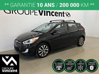 Used 2016 Hyundai Accent GLS ** GARANTIE 10 ANS ** Fiable, économique et pratique! for sale in Shawinigan, QC