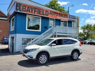Used 2016 Honda CR-V EX-L AWD **Leather/Sunroof** for sale in Barrie, ON