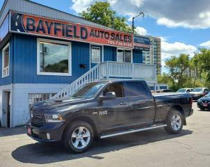 Used 2016 RAM 1500 Sport Crew Cab 4x4 **Sunroof/Navigation** for sale in Barrie, ON