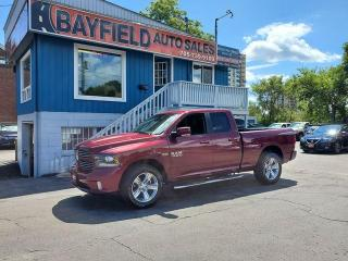 Used 2017 RAM 1500 Sport Quad Cab 4x4 **5.7L HEMI** for sale in Barrie, ON
