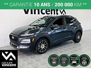 Used 2018 Hyundai KONA PREFERRED ** GARANTIE 10 ANS ** Obtenez l'agilité d'une voiture tout en profitant de la position de conduite plus élevée d'un VUS. for sale in Shawinigan, QC