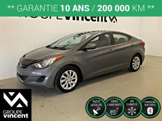 Used 2013 Hyundai Elantra GL ** GARANTIE 10 ANS ** Fiable et économique! for sale in Shawinigan, QC