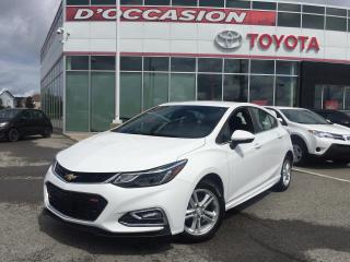 Used 2018 Chevrolet Cruze HATCHBACK LT RS **AUTO/MAGS/CAMERA** for sale in St-Eustache, QC