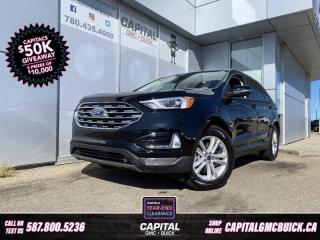 Used 2019 Ford Edge SEL AWD REMOTE START NAV HEATED LEATHER HEATED STEERING for sale in Edmonton, AB