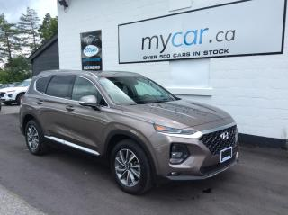 Used 2020 Hyundai Santa Fe Preferred 2.4 HEATED SEATS/WHEEL, BACKUP CAM, MYCAR POWERBUY for sale in Richmond, ON