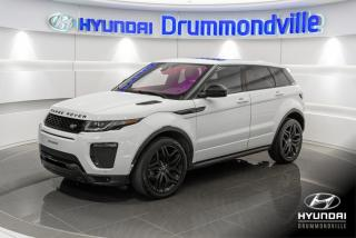 Used 2017 Land Rover Evoque HSE 4WD + GARANTIE + NAVI + TOIT PANO for sale in Drummondville, QC