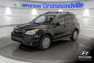 Used 2015 Subaru Forester LIMITED + GARANTIE + TOIT + CAMERA + NAV for sale in Drummondville, QC