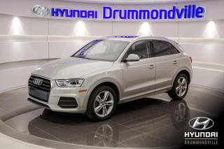 Used 2016 Audi Q3 PROGRESSIV + GARANTIE + TOIT PANO + A/C for sale in Drummondville, QC