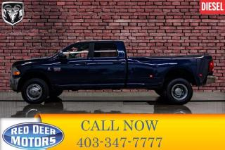 Used 2012 RAM 3500 4x4 Crew Cab SLT Diesel Dually Nav BCam for sale in Red Deer, AB