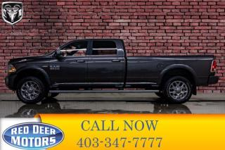 Used 2017 RAM 2500 4x4 Crew Cab Limited Longbox HEMI Leather Nav BCam for sale in Red Deer, AB