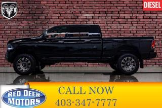 Used 2014 RAM 2500 4x4 Mega Cab Limited Lift Leather Roof Nav for sale in Red Deer, AB