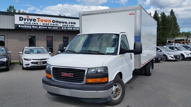 2017 GMC Savana Commercial Cutaway 16FT CUBE VAN