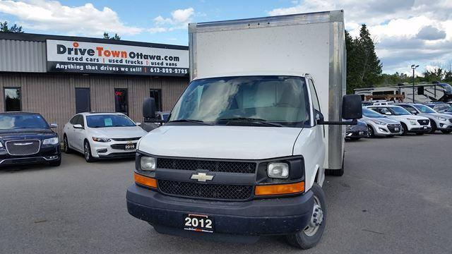 2012 Chevrolet Express Commercial Cutaway 16FT CUBE VAN
