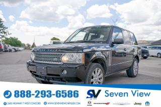 Used 2007 Land Rover Range Rover SuperCharged for sale in Concord, ON