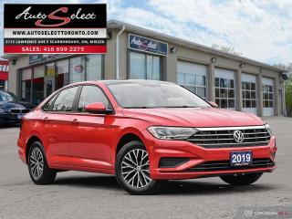 Used 2019 Volkswagen Jetta Highline ONLY 41K! **TECHNOLOGY PKG**PAN-SUNROOF**CLN CP** for sale in Scarborough, ON