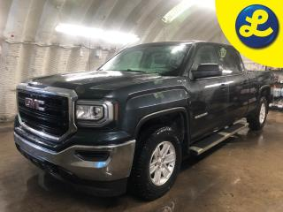 Used 2018 GMC Sierra 1500 4WD Crew Cab * Weather Tech Floor Mats * Side Steps * Trailer Brake Control * GM Bed Liner * Tow Package * Tow Mode * Rear Bumper Side Steps * Back Up for sale in Cambridge, ON