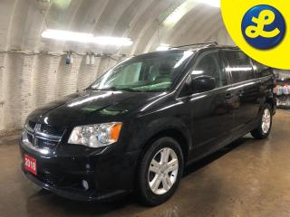 Used 2018 Dodge Grand Caravan Crew Plus * Navigation * Leather * Garmin navigation * Stow N Go * Leatherfaced seats with perforated inserts * 3.6L Pentastar VVT V6 * Power sliding for sale in Cambridge, ON
