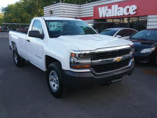 Used 2016 Chevrolet Silverado 1500 Regular Cab 2X4 with 8' Long Box for sale in Ottawa, ON