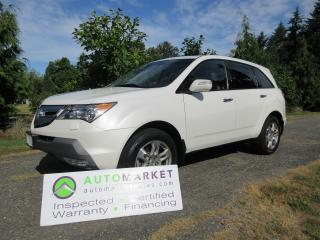 Used 2009 Acura MDX TECH PCKG, 1 OWNER AWD, INSP, BCAA MBSHP, WARRANTY & FINANCING! for sale in Surrey, BC