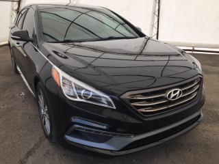 Used 2015 Hyundai Sonata 2.0T LEATHER HEATED SEATING, BLIND SPOT DETECTION, REVERSE CAMERA for sale in Ottawa, ON