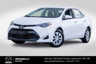 Used 2017 Toyota Corolla CE Automatique Bluetooth Adaptive Cruise Control Toyota Corolla CE 2017 for sale in Lachine, QC