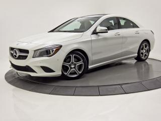 Used 2016 Mercedes-Benz CLA-Class CLA 250 4MATIC TOIT PANO GPS for sale in Brossard, QC
